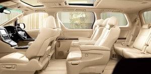 Alphard Facelift Interior