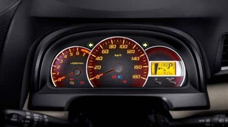 speedometer xenia