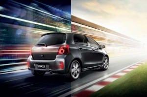 Toyota Yaris Facelift back