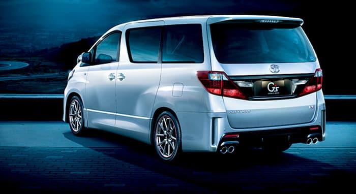 Toyota Alphard GS Belakang