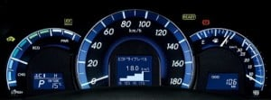 speedometer camry baru