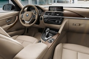 Interior rental BMW